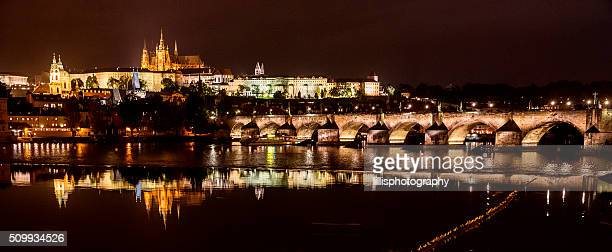 Prague Czech Republic at Night