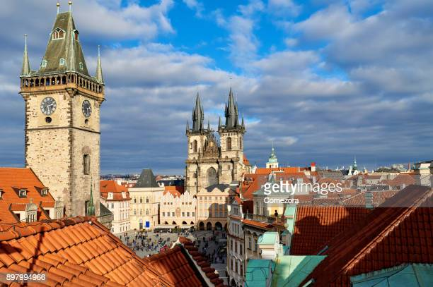 Prague Old Town Square and Cityscape, Czech Republic