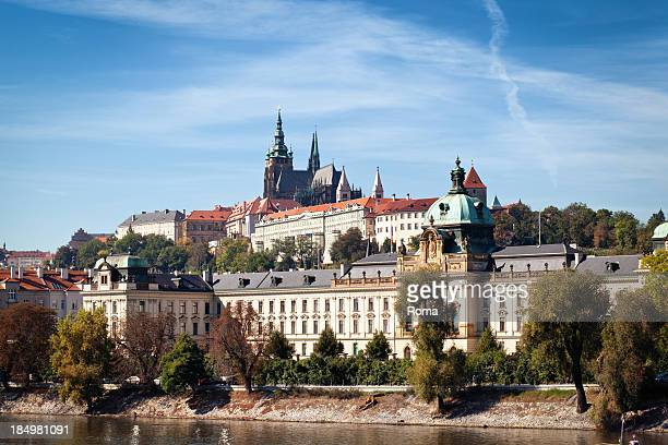 prague - hradcany castle stock pictures, royalty-free photos & images