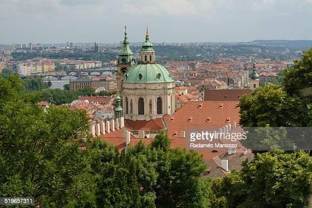 Prague towers
