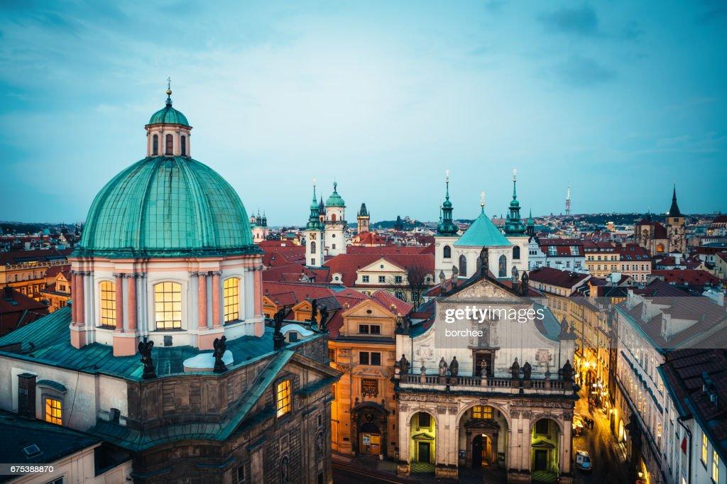 Prague Towers : Stock Photo