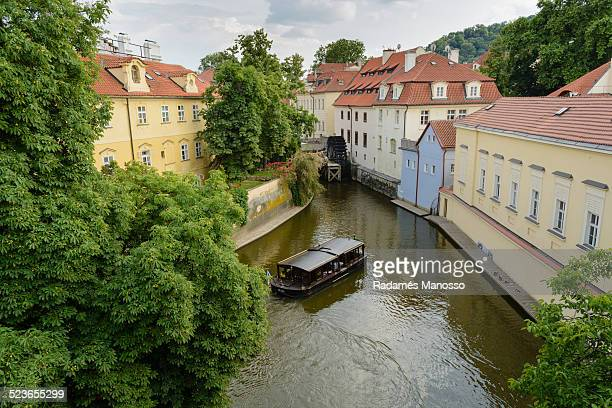 Prague water wheel