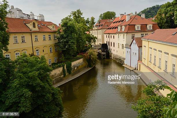Prague waterwheel