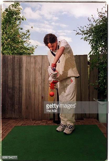 Prahran batsman Michael Klinger at home in East Kew THE AGE Picture by PENNY STEPHENS