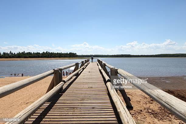 praia artificial - santa helena - parana state stock pictures, royalty-free photos & images