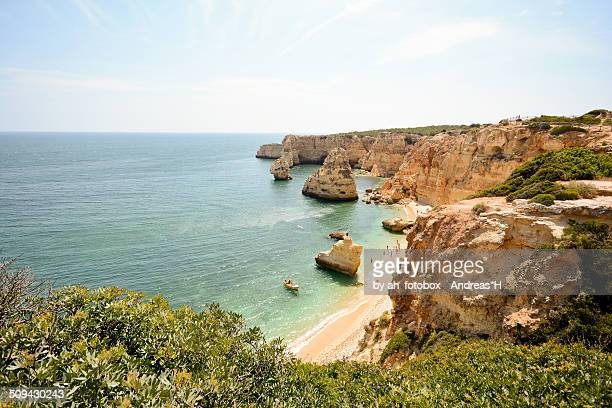Praia da Marinha (Marinha beach) Algarve Portugal