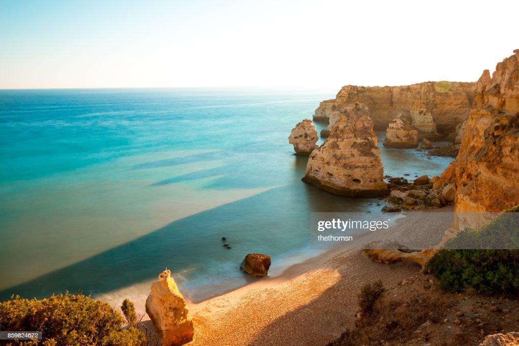 Praia da Marinha, Portugal : Stock Photo