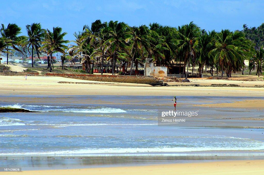 Praia das Minas : Stock Photo