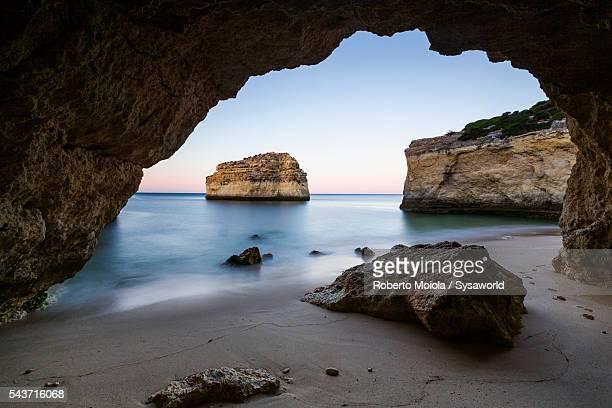 Praia De Albandeira Algarve Portugal