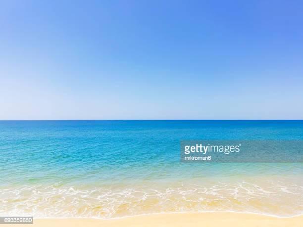 praia de faro, faro, portugal - beach holiday stock pictures, royalty-free photos & images