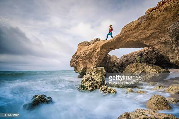 Praia de Marinha, Caramujeira, Lagoa, Algarve, Portugal.