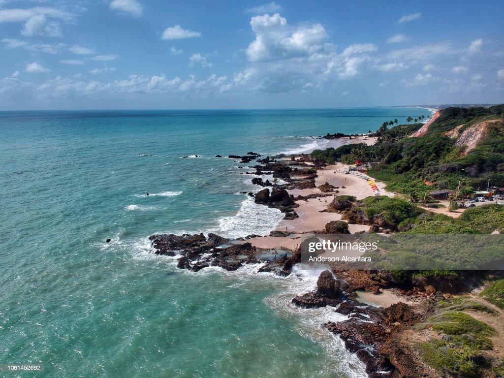 Praia De Nudismo Tambaba Stock Photo - Getty Images