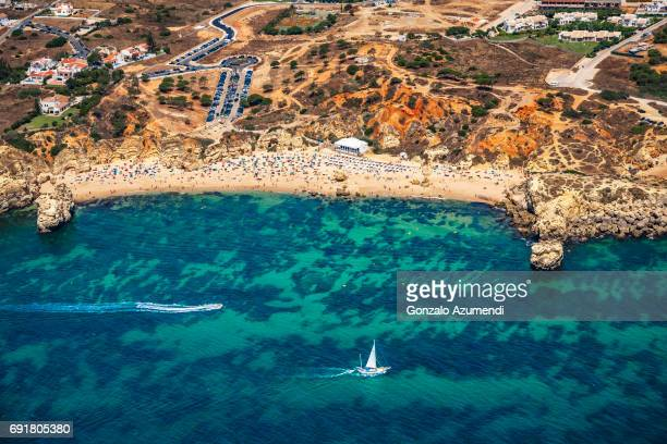praia de sao rafael in algarve - distrito de faro portugal imagens e fotografias de stock