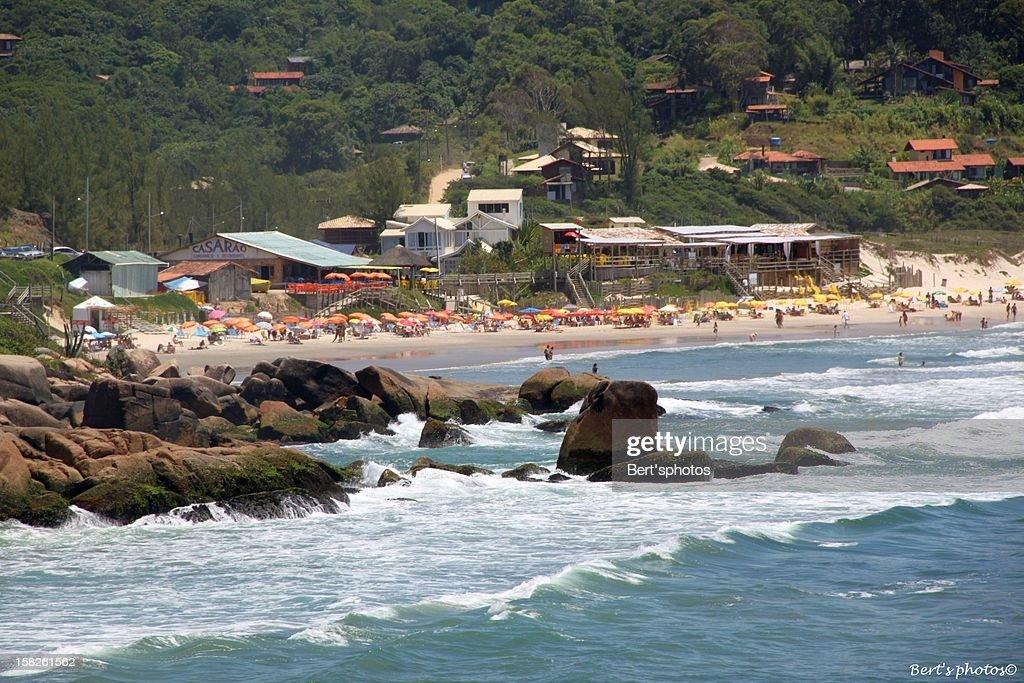 Praia do Rosa - Litoral de Santa Catarina - SC : Foto de stock