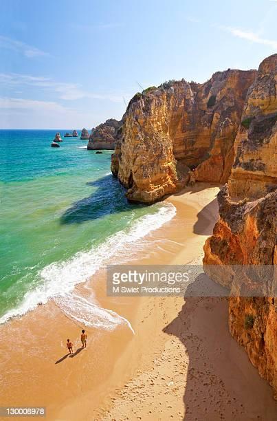praia dona ana portugal - ポルトガル ファロ県 ストックフォトと画像
