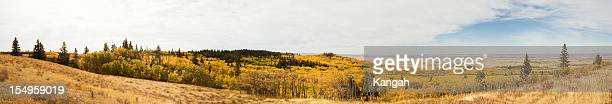 Prairie Coulee Panorama