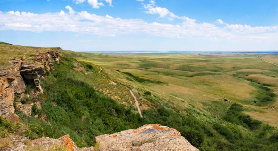 Prairie landscape in Alberta, Canada 148457460