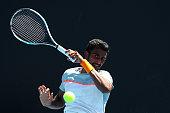 melbourne australia prajnesh gunneswaran india plays
