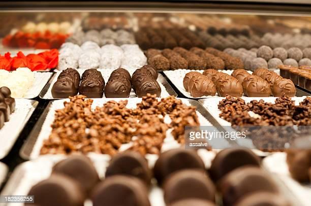 praline chocolate shop
