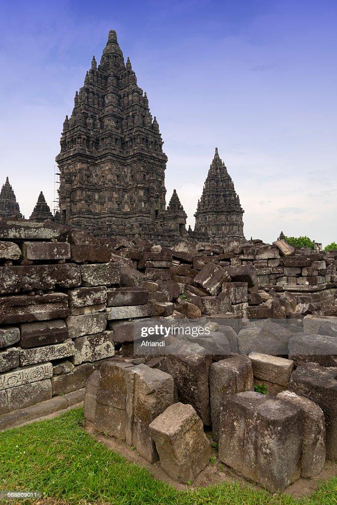 Prambanan Temple, Yogyakarta, Indonesia : Foto de stock