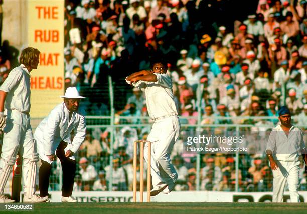 Prasanna India v England 3rd Test Madras Jan 197677