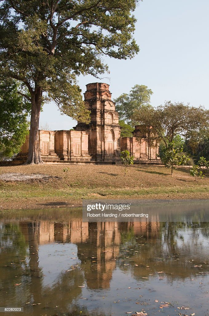 Prasat Kravan Temple dating from AD921, Angkor, UNESCO World Heritage Site, Siem Reap, Cambodia, Indochina, Southeast Asia, Asia : Stock Photo