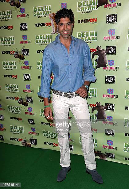 Prashant Raj attends 'Delhi Safari' Los Angeles premiere at Pacific Theatre at The Grove on December 3 2012 in Los Angeles California