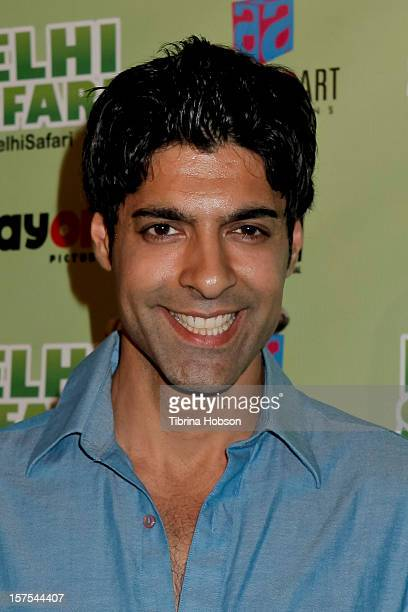 Prashant Raj attends the Delhi Safari Los Angeles premiere at Pacific Theatre at The Grove on December 3 2012 in Los Angeles California