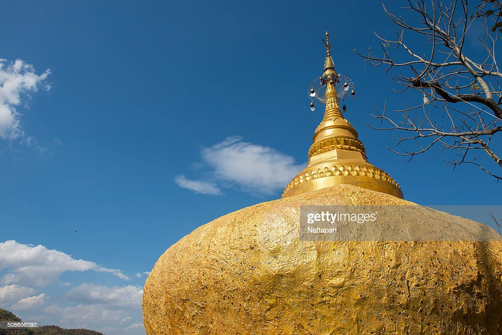 Pratad Inkwan ,pagoda in Phrae Thailand : Stock Photo