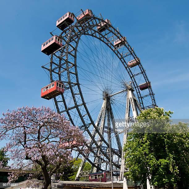 Prater landmark in Vienna, Austria