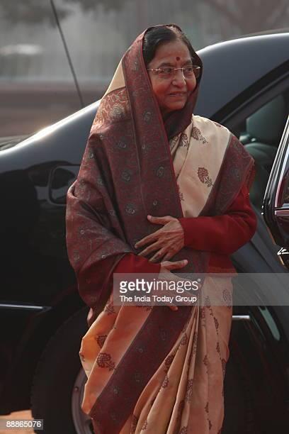 Pratibha Devisingh Patil President of India at Rashtrapati Bhawan in New Delhi India