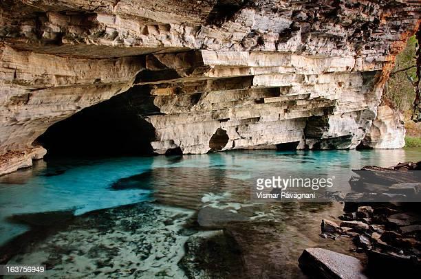 pratinha cave - parco nazionale di chapada diamantina foto e immagini stock
