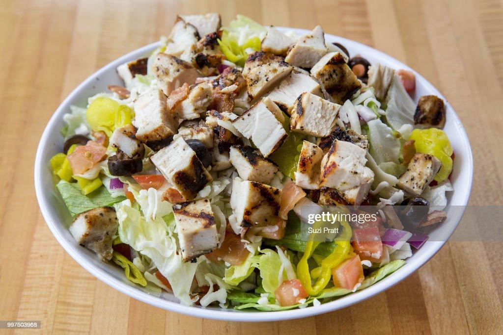 Pratt Wingdome Salad : Stock Photo