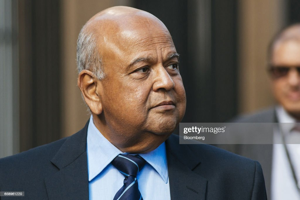 South Africa's Finance Minister Pravin Gordhan Attends Court