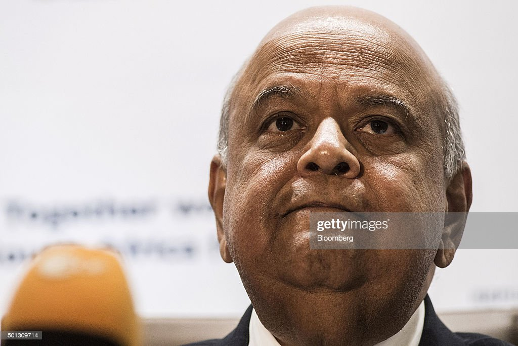 South Africa's New Finance Minister Pravin Gordhan