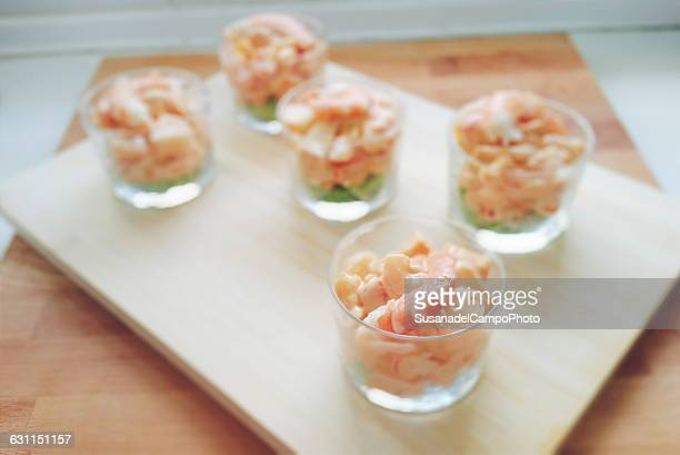 Prawn cocktail appetizers