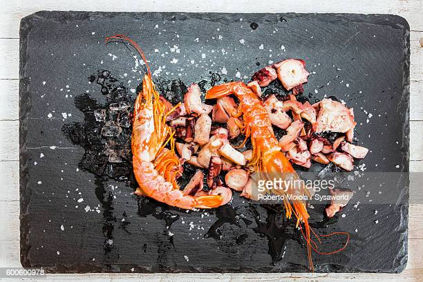 Prawns and seafood Italy