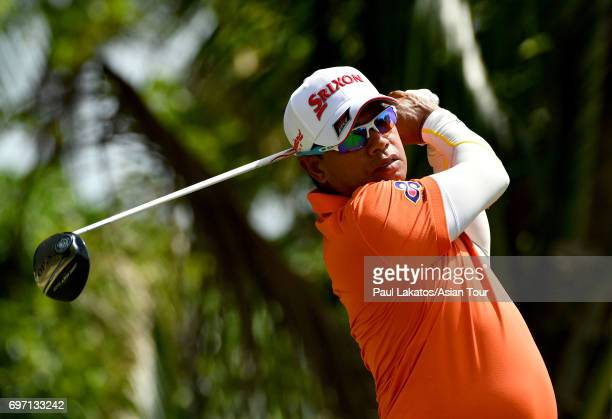 Prayad Marksaeng of Thailand during round four of the Queen's Cup at Santiburi Samui Country Club on June 18 2017 in Bangkok Thailand