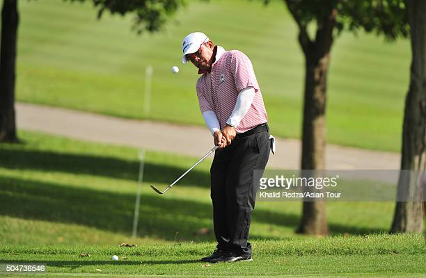 Prayad Marksaeng of Thailand in action during official practice at Glenmarie GCC on January 13 2016 in Kuala Lumpur Malaysia