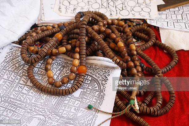 Prayer Beads of a Sufi Marabout in Senegal