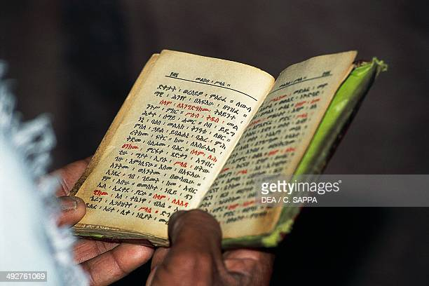 Prayer book Lalibela Ethiopia