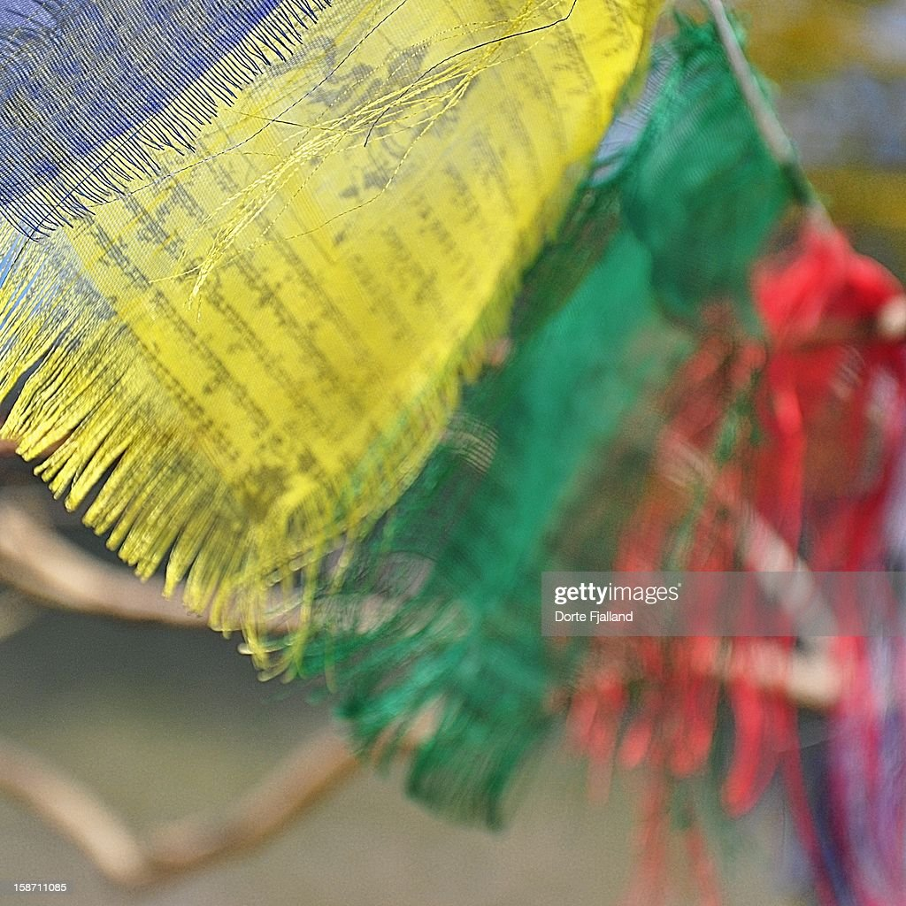 Prayer flags : Stock-Foto