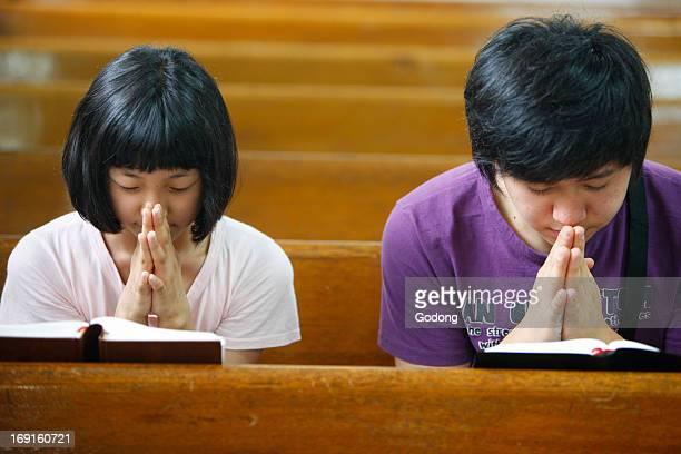 Prayer in a presbyterian church