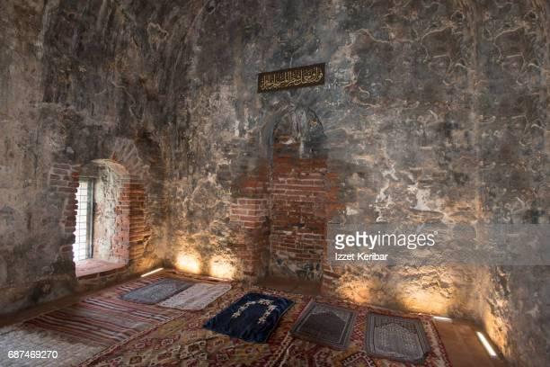 Prayer room inside the old shipyards, Alanya, Antalya Turkey