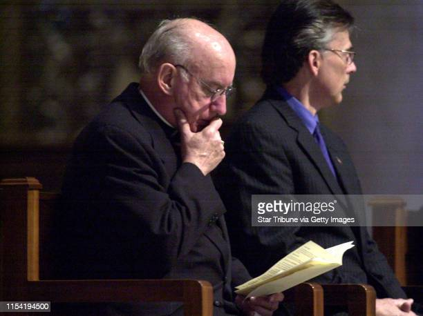 Prayer service marking the 29th anniversary of Roe v. Wade was held at the Cathedral of St. Paul. IN THIS PHOTO: St. Paul, Mn., Tues., Jan. 22,...