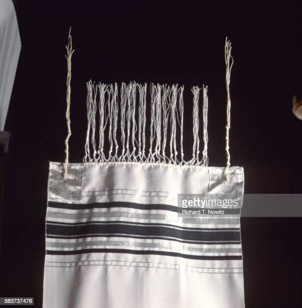 prayer shawl - jewish prayer shawl ストックフォトと画像