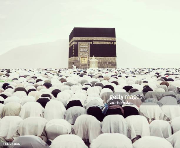 prayers in kaaba - jasmin lord stock-fotos und bilder