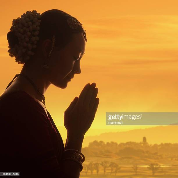 praying at dawn