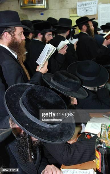 praying at the tomb of rabbi simon - haredi judaism stock pictures, royalty-free photos & images
