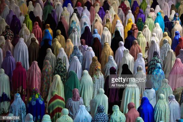 Praying Taraweh, Istiqlal Mosque, Ramadan, Jakarta